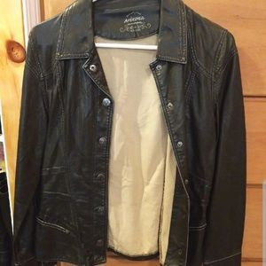 Faux Leather Jacket *EVERYTHING MUST GO by Sep 30*